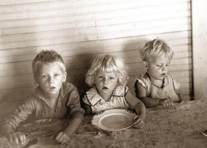 "Children having almost no food to eat."" Web. 24 Feb. 2012."