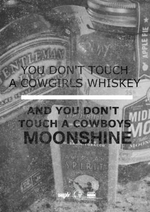 Whiskey And Moonshine Lyrics/quotes