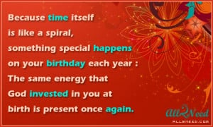 Because Time Itself Is Like A Special, Something Special Happens On ...