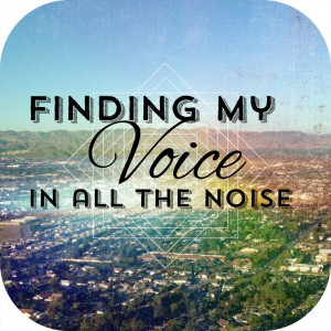 Find your voice #typography