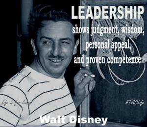 walt disney leadership quote