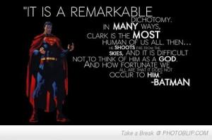 ... Quotes, Dc Comics, Batman Quotes On Superman Jpg, Quotes Superhero
