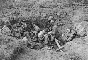 World War 1 Trenches Conditions