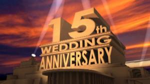 15th Wedding Anniversary Tribute
