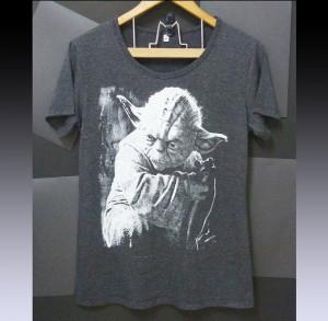 Yoda shirt Star wars tshirt quote print monster art size S M L XL XXL ...