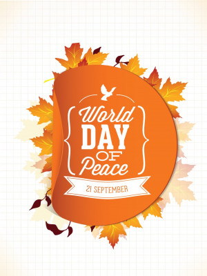 World Peace Quotes And Sayings World day of peace cards,