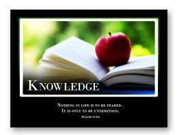 Knowledge Motivational Slide