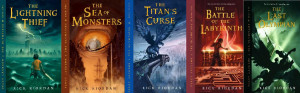 Book Review: Percy Jackson and the Olympians Series by Rick Riordan
