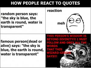 Tumbler react to quotes