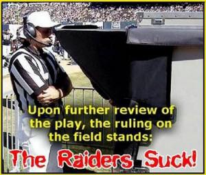 raiders suck Image