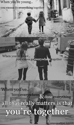 Funny photos funny love quote doing everything together