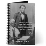 Lincoln with Sojourner Truth Journal