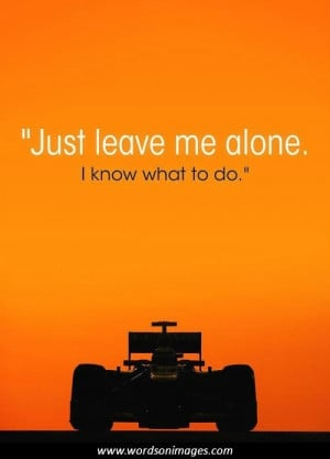 Race car quotes