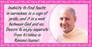 Available on the net are some lovely quotes from HH Radhanath Swami I ...