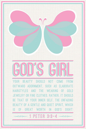 christian posters for youth gods girl