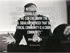 Men of Integrity Quotes
