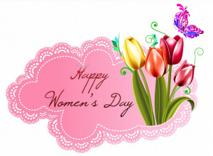 Happy Womens Day Card Image
