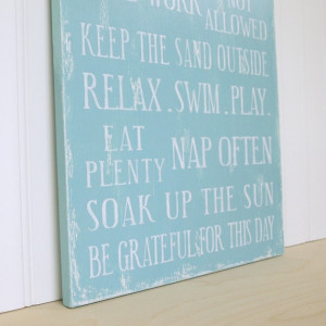 Family Rules Sign Cottage Rules, Beach House Rules or Lake House Rules ...