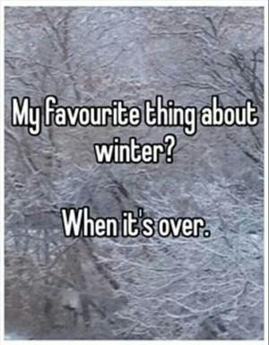 Exactly! #winter