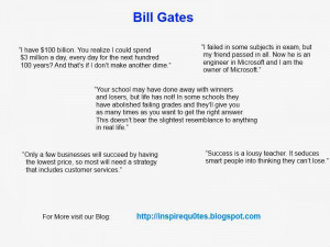 bill gates inspirational quotes bill gates is the founder of