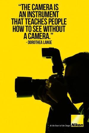 DOROTHEA LANGE #Nikon