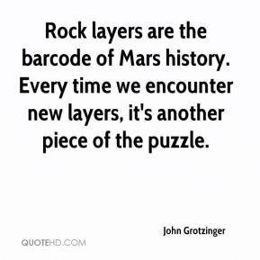 John Grotzinger - Rock layers are the barcode of Mars history. Every ...