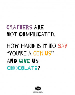 www.sizzix.com/home #Craft #Crafting #Quotes #Sizzix