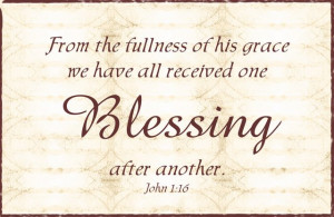 Scripture Thursday ~ Blessings Abound