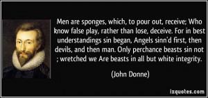 Deceive Quotes More john donne quotes