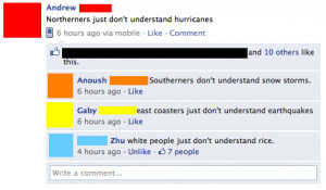Northerners just don't understand hurricanes