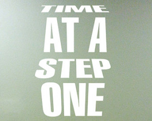 Inspiration Decal One Step At A Tim e Rehab Decal Rehabilitation ...