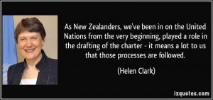 More Helen Clark Quotes