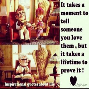 You Love... Prove It! #Movie #Quote #Up #MovieQuote #Love #Prove # ...