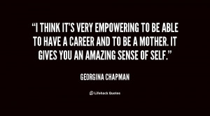 Georgina Chapman Quotes