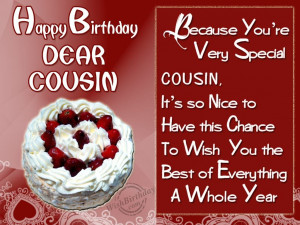 ... kB · jpeg, Birthday Wishes for Cousin – Birthday Cards, Greetings