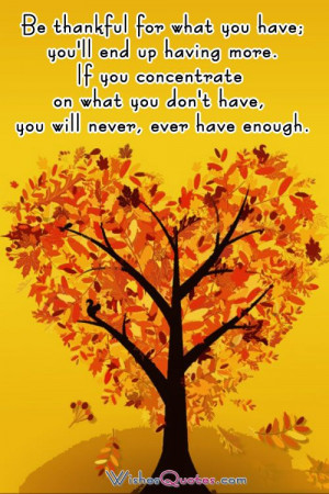 Thanksgiving Quotes to Share with Family and Friends