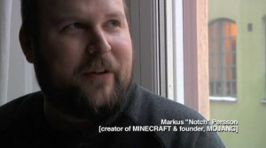 Markus Alexej Persson Markus persson the creator of