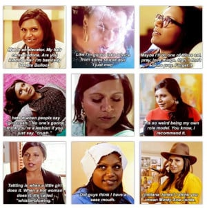 Mindy Kaling / The Mindy Project Funny Quotes