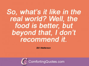 Bill Watterson Quotes