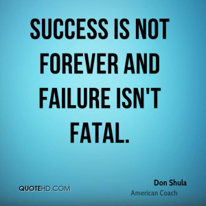 Quote About Success and Failure