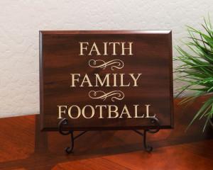 Faith Family Football Quotes. QuotesGram
