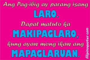 Filipino Tagalog Love Quotes