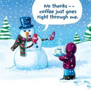 Post funny winter images here(snowmen,snow ,etc)?