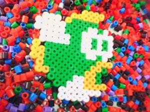 Perler Beads Mario Bros...