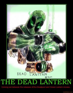 the dead lantern deadpool green lantern