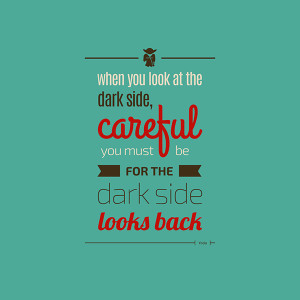 Typographic Illustrations Of Inspiring Quotes By The Always-Wise Yoda