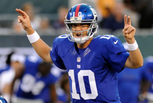 Eli Manning, New York's 'other' quarterback, prepares for a ...