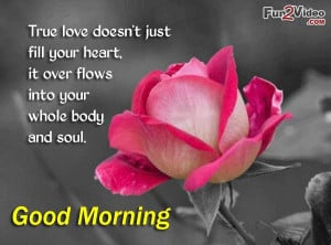 Good morning love quotes for true love and these cute good morning ...