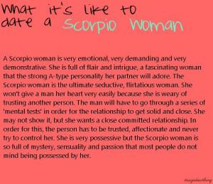 Scorpio woman @Kathleen S S S S McNichols