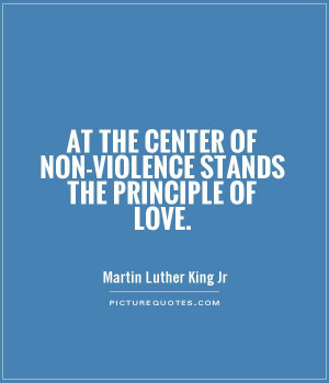 martin luther king jr non violence Dr martin luther king, jr's less than thirteen years of nonviolent leadership ended abruptly and tragically on april 4th, 1968, when he was assassinated at the lorraine motel in memphis, tennessee.